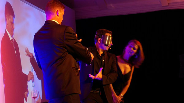 Larry Soffer Stage Show Blindfold Act